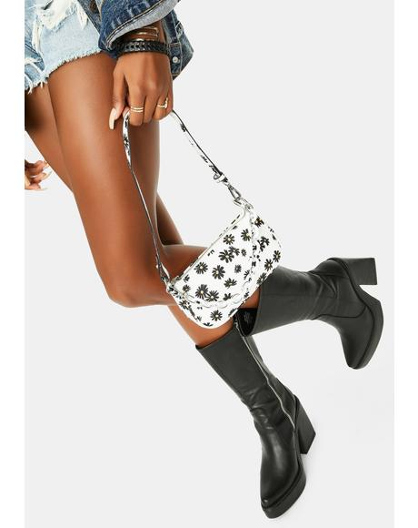 Purely Daisy Crazy Shoulder Bag