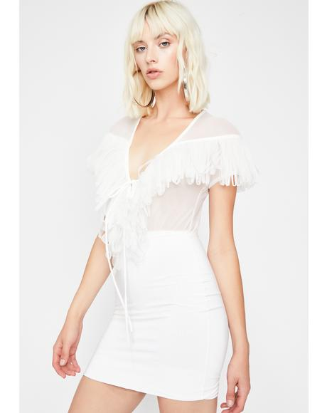 Boss Up Fringe Dress