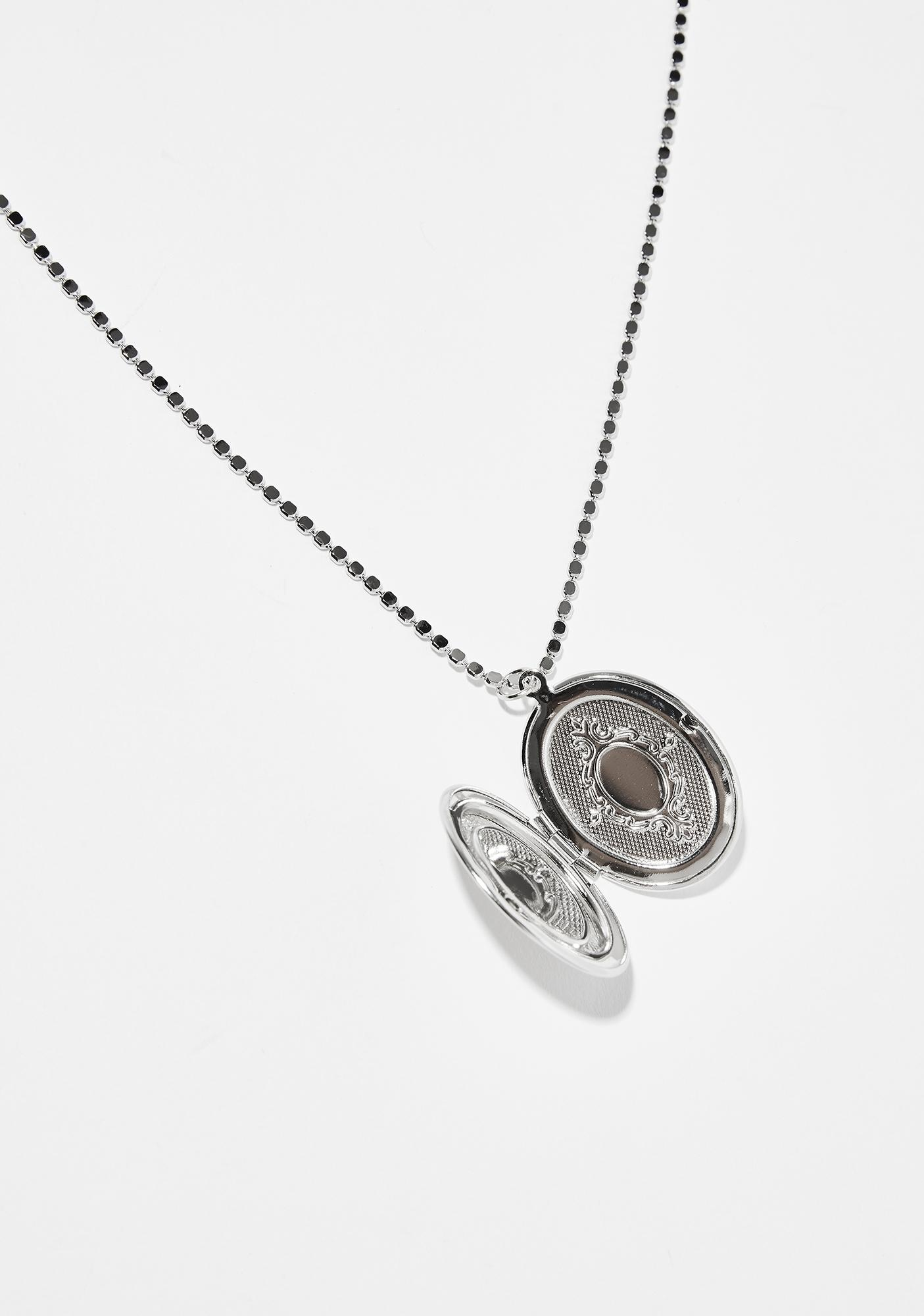 Fond Memories Locket Necklace