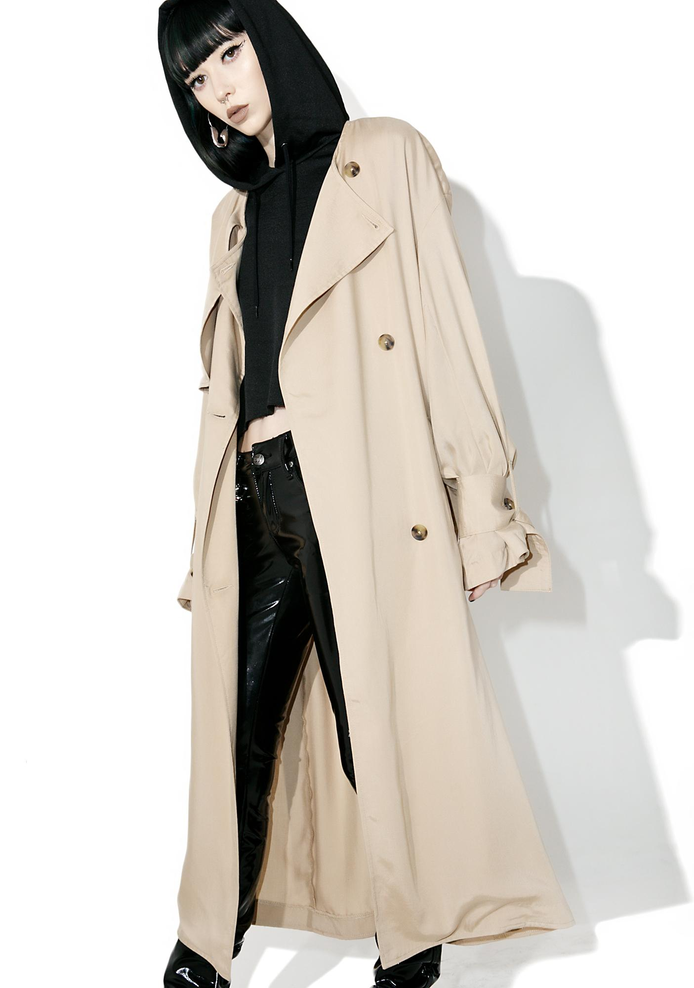 Cheap Monday Flavor Trench Coat