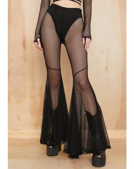 Escape From Reality Fishnet Flares