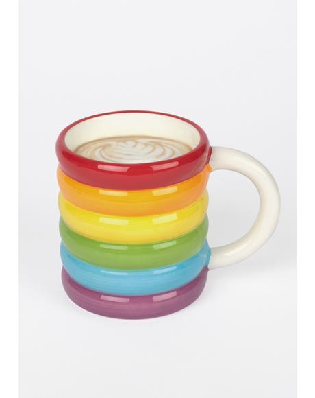 Better Days Rainbow Mug
