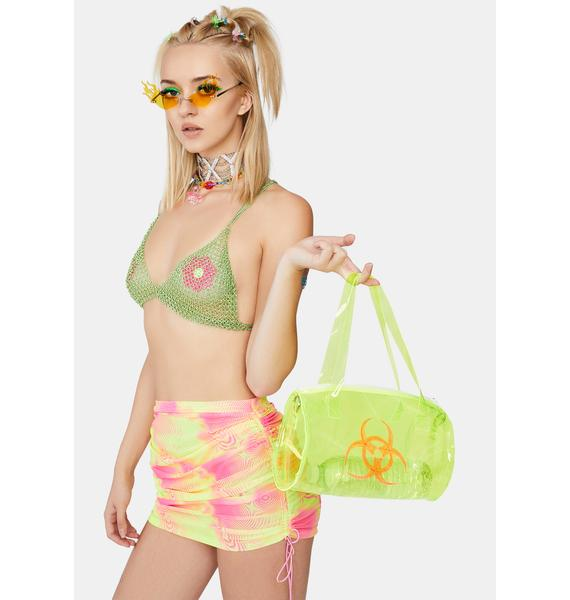 Forplay Lime Candy Dance Chain Bra