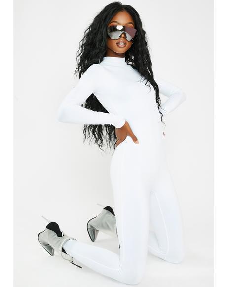 White Snowy Jumpsuit