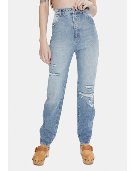 Garage Blue Elle Jeans