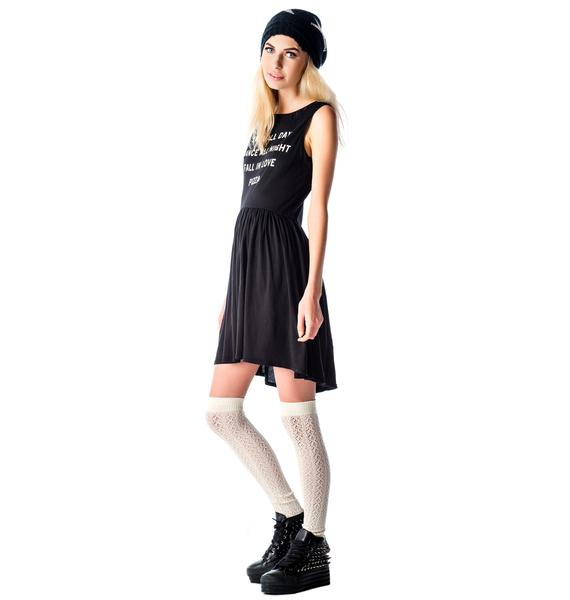 Wildfox Couture Pizza Party 90s Baby Doll Dress
