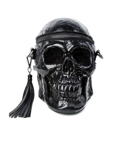 Grave Digger Skull Handbag