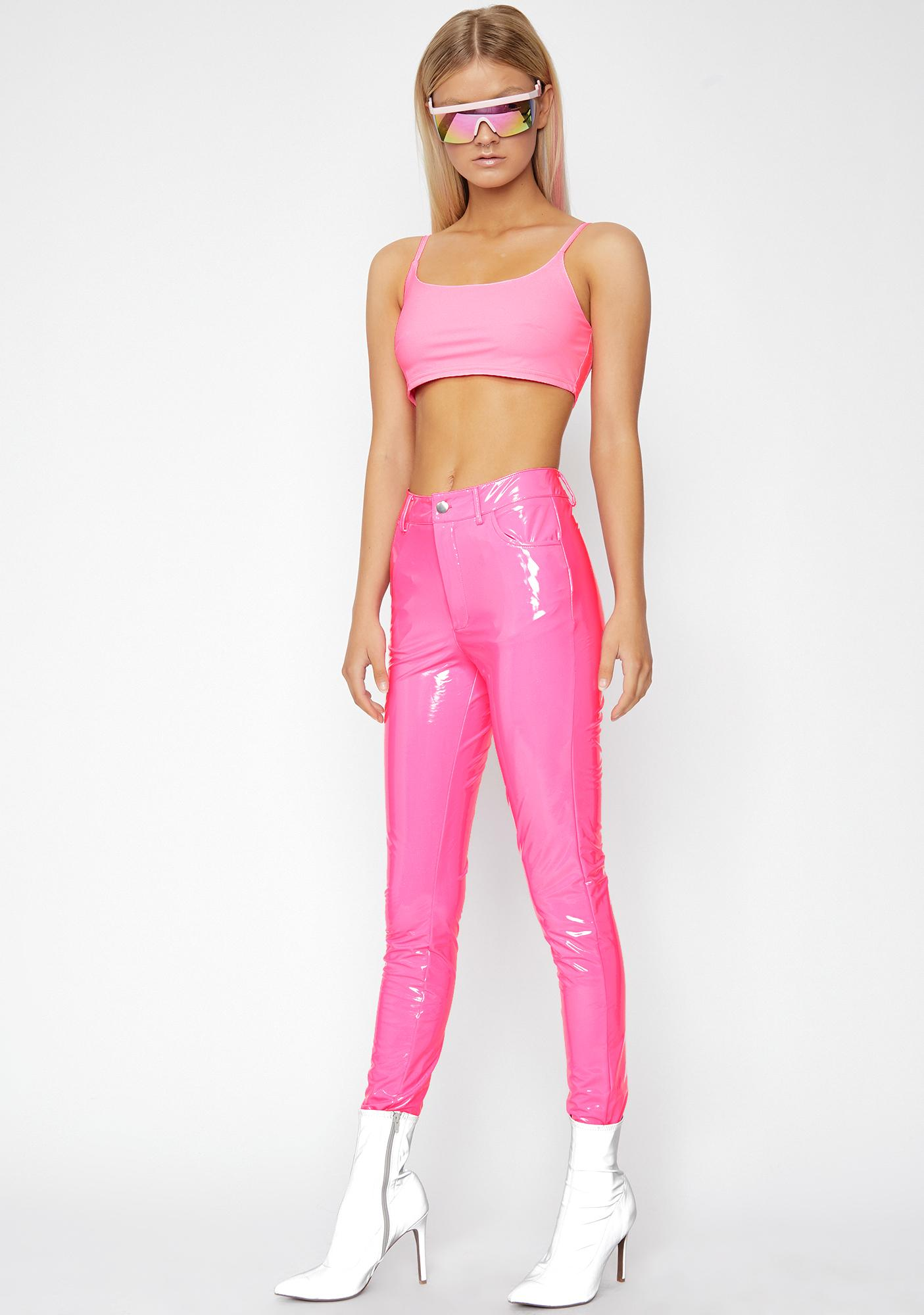 Candy Legally Flawless Vinyl Pants