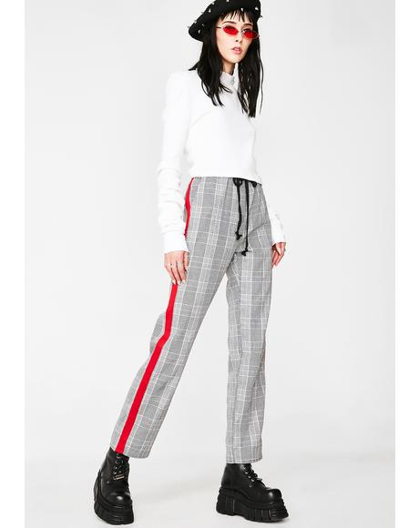 Business Or Pleasure Plaid Pants