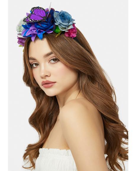 Gem Garden Magic Flower Headband