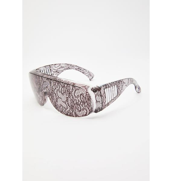 Cyberdog Laced Up Glasses