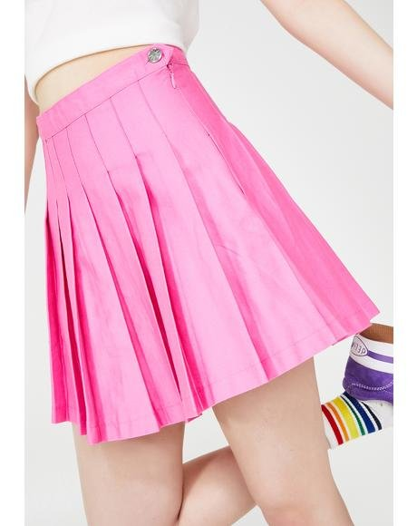 Teen Confessions Pleated Skirt