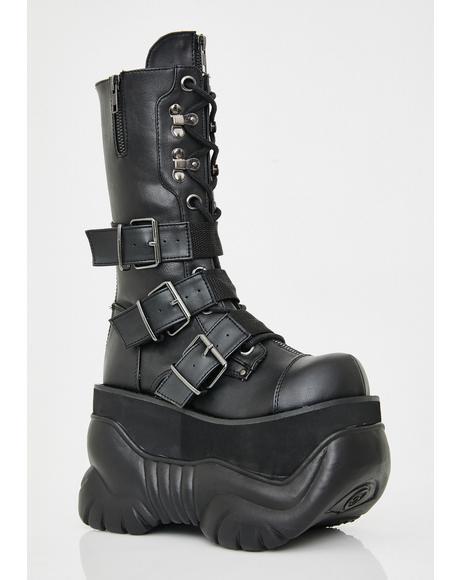 Doom Stomper Platform Boots