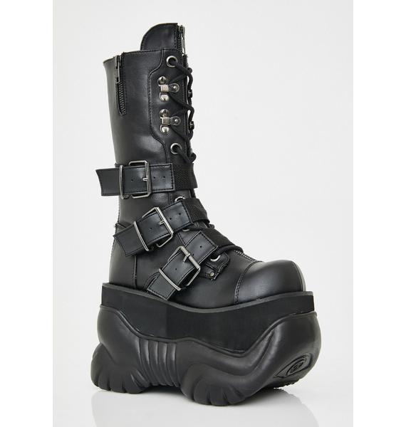 Demonia Doom Stomper Platform Boots