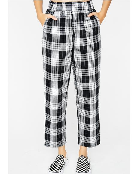 Midnight Trend Settin' Plaid Pants