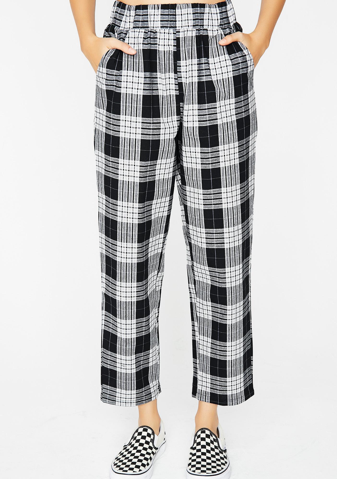 Midnight Trend Settin' Plaid Pants