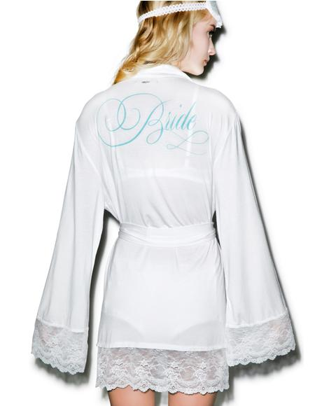 Here Comes The Bride Dressing Robe