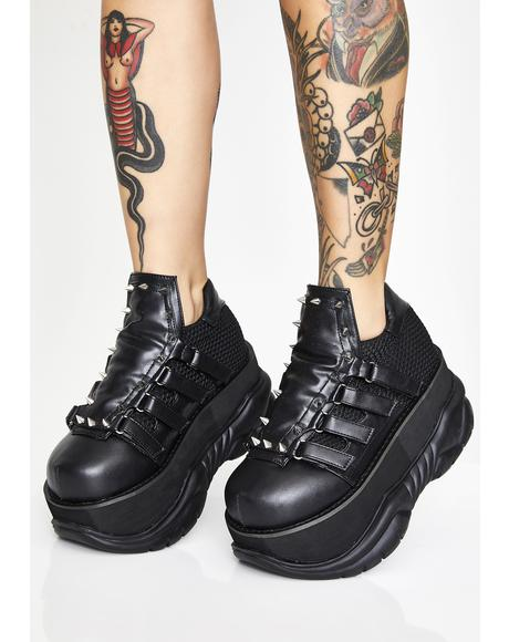 Punk Neptune Platform Sneakers
