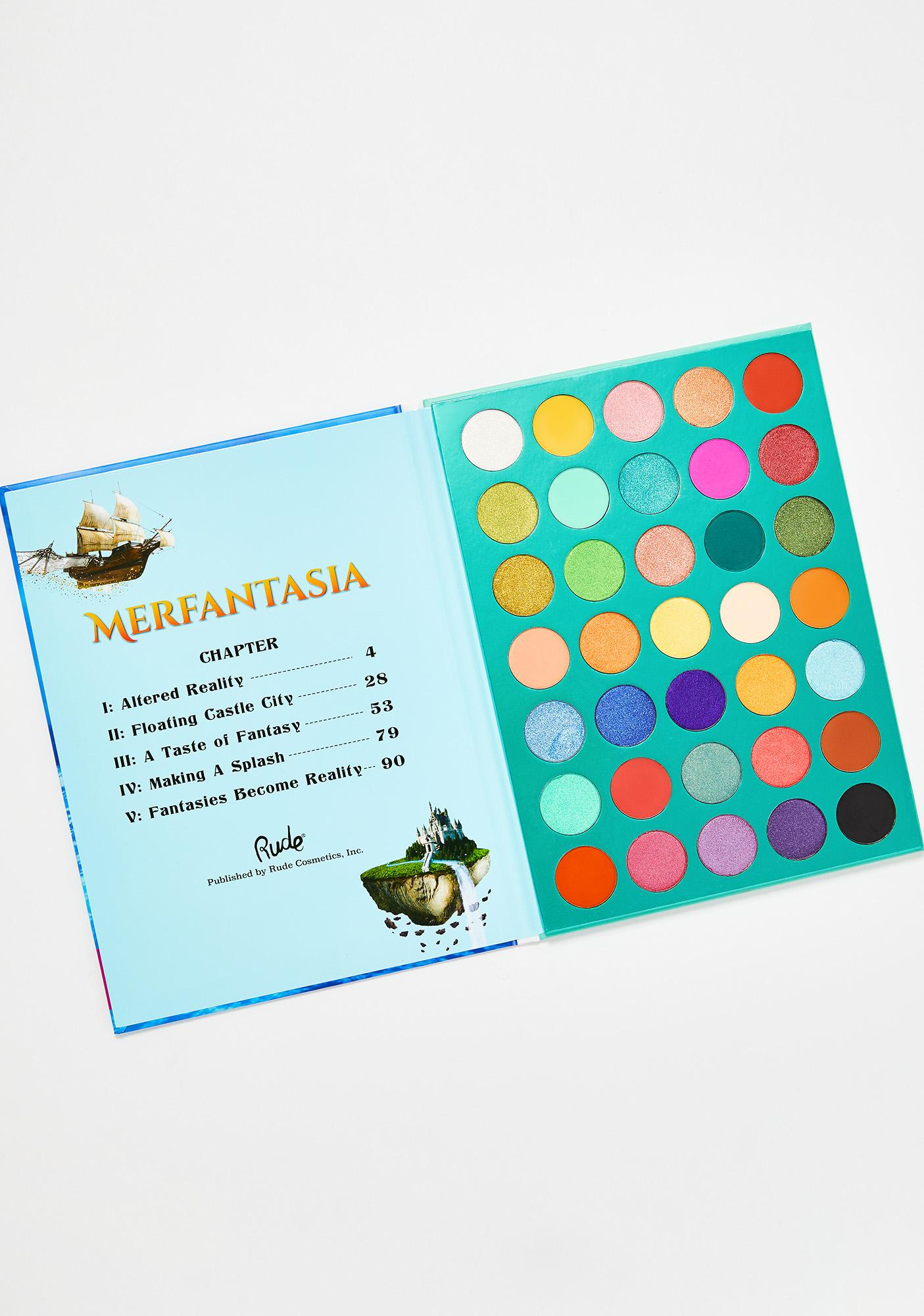 Rude Cosmetics Merfantasia Eyeshadow Palette