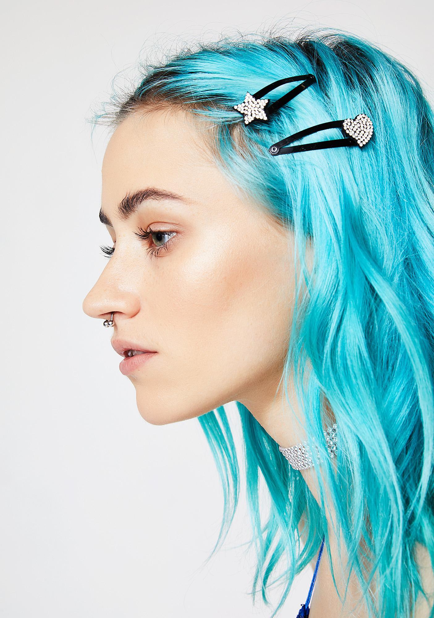 Love 4 Stars Hair Clips