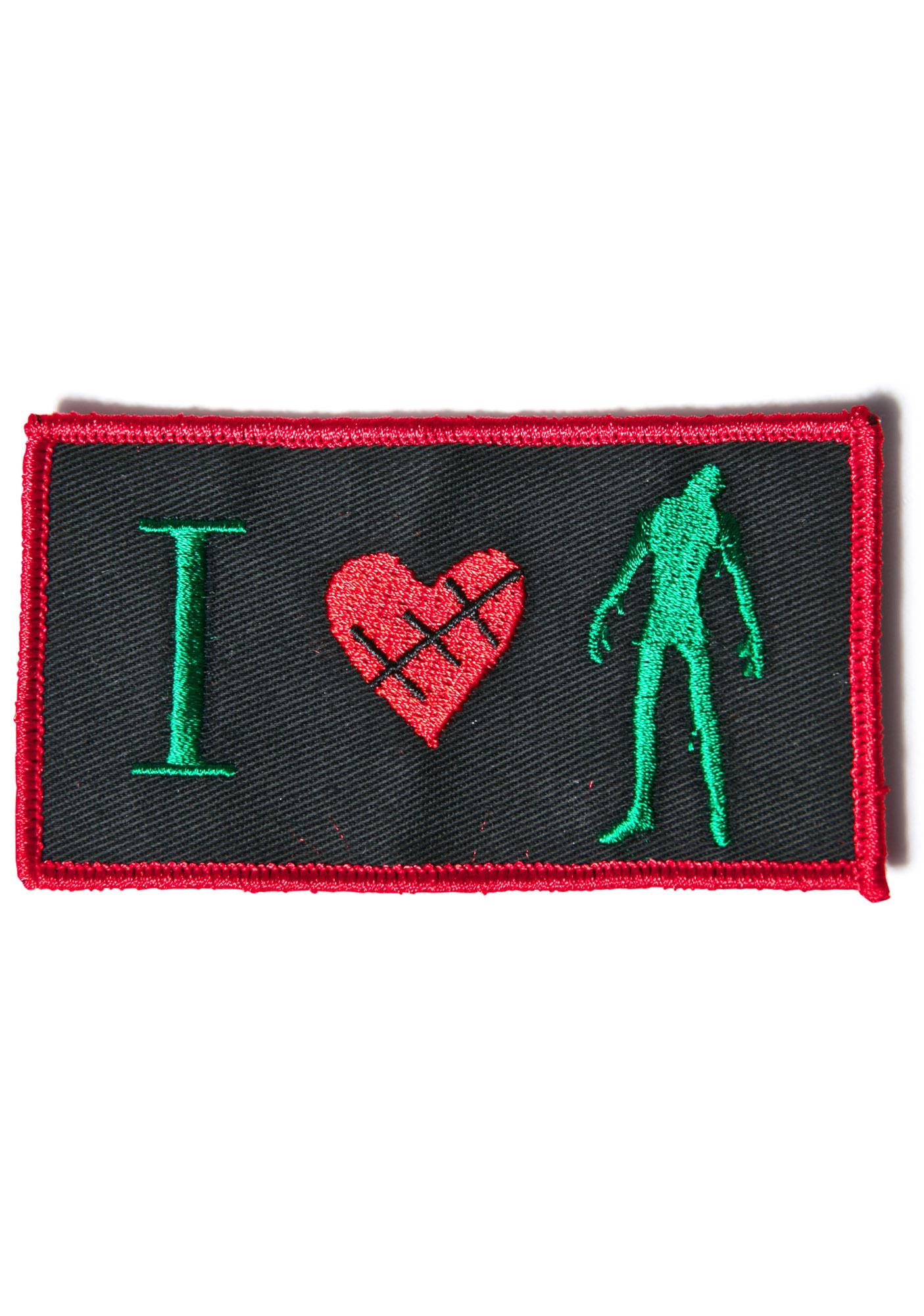I Love Brains Patch