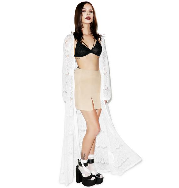 Somedays Lovin Runaway Maxi Cape Dress