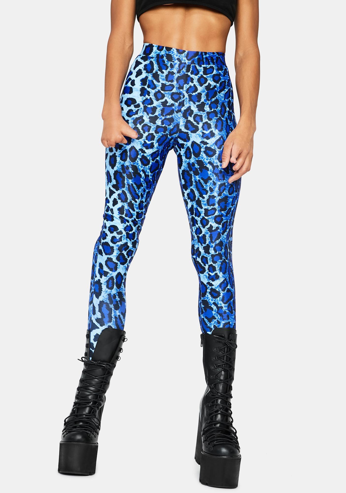 Fiercer Than U Leopard Leggings