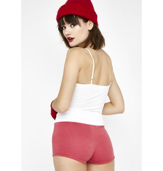 Wildfox Couture Cherry Contrast Mae Shorts