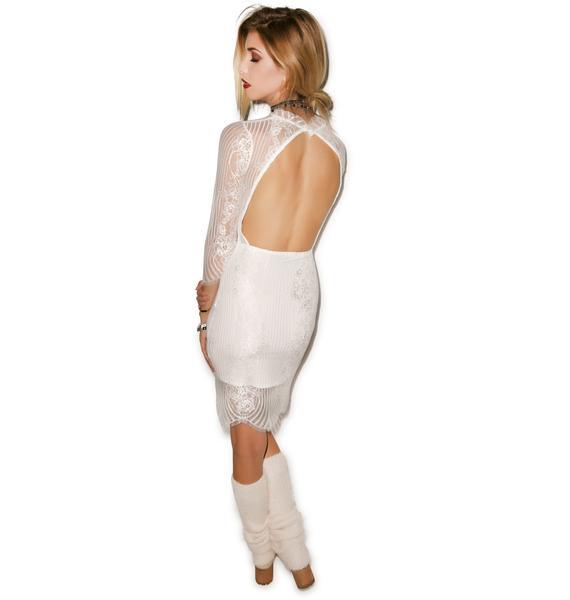 For Love & Lemons Rosette Dress