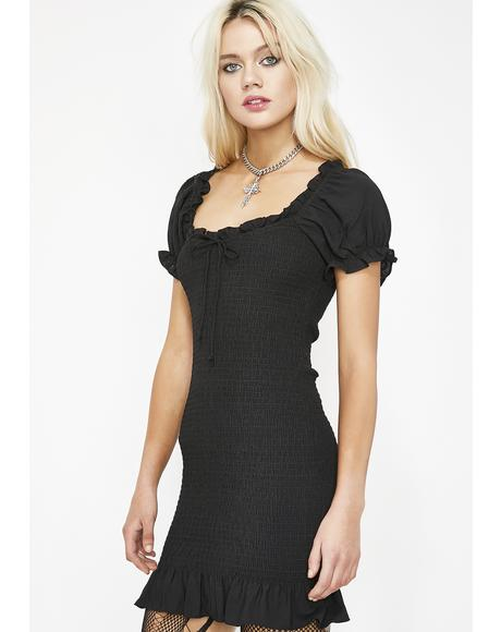 Indie Rokker Ruched Dress