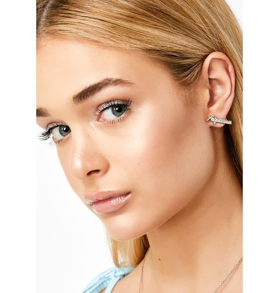 Lil Miss Aquarius Earrings