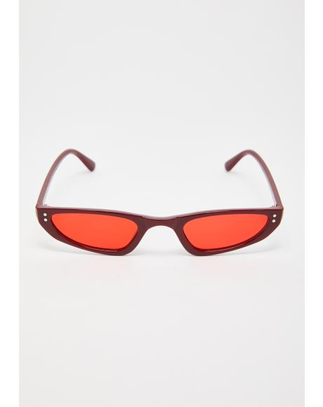 Glam Reaction Cat-Eye Sunglasses