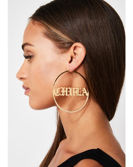 Mami Chula Hoop Earrings