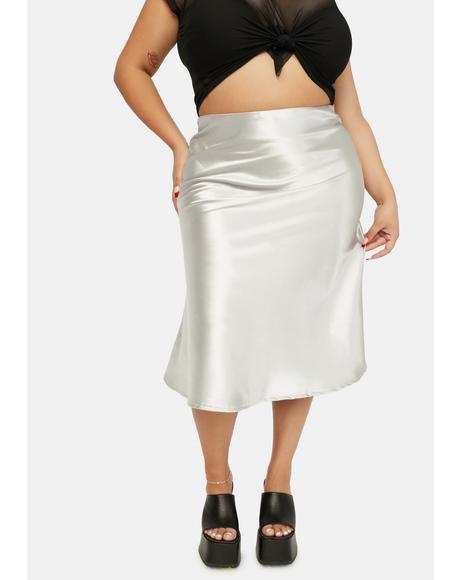Mercury Gotta Look The Part Midi Skirt