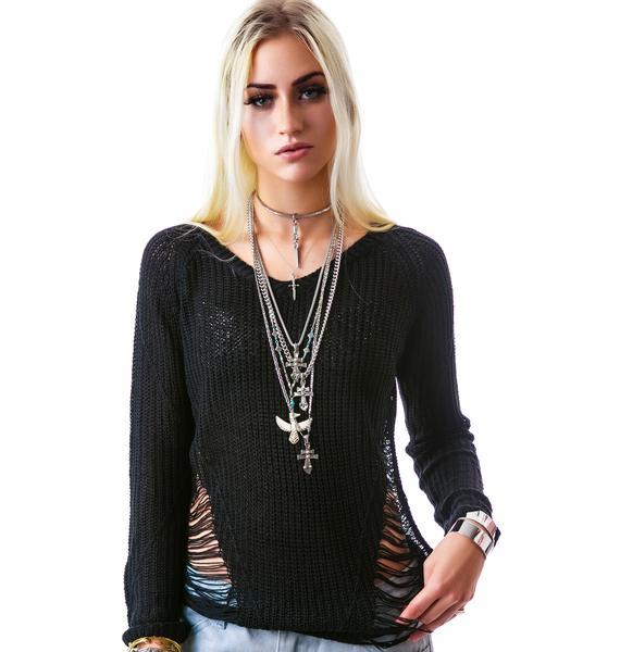 Lune Noir Sweater