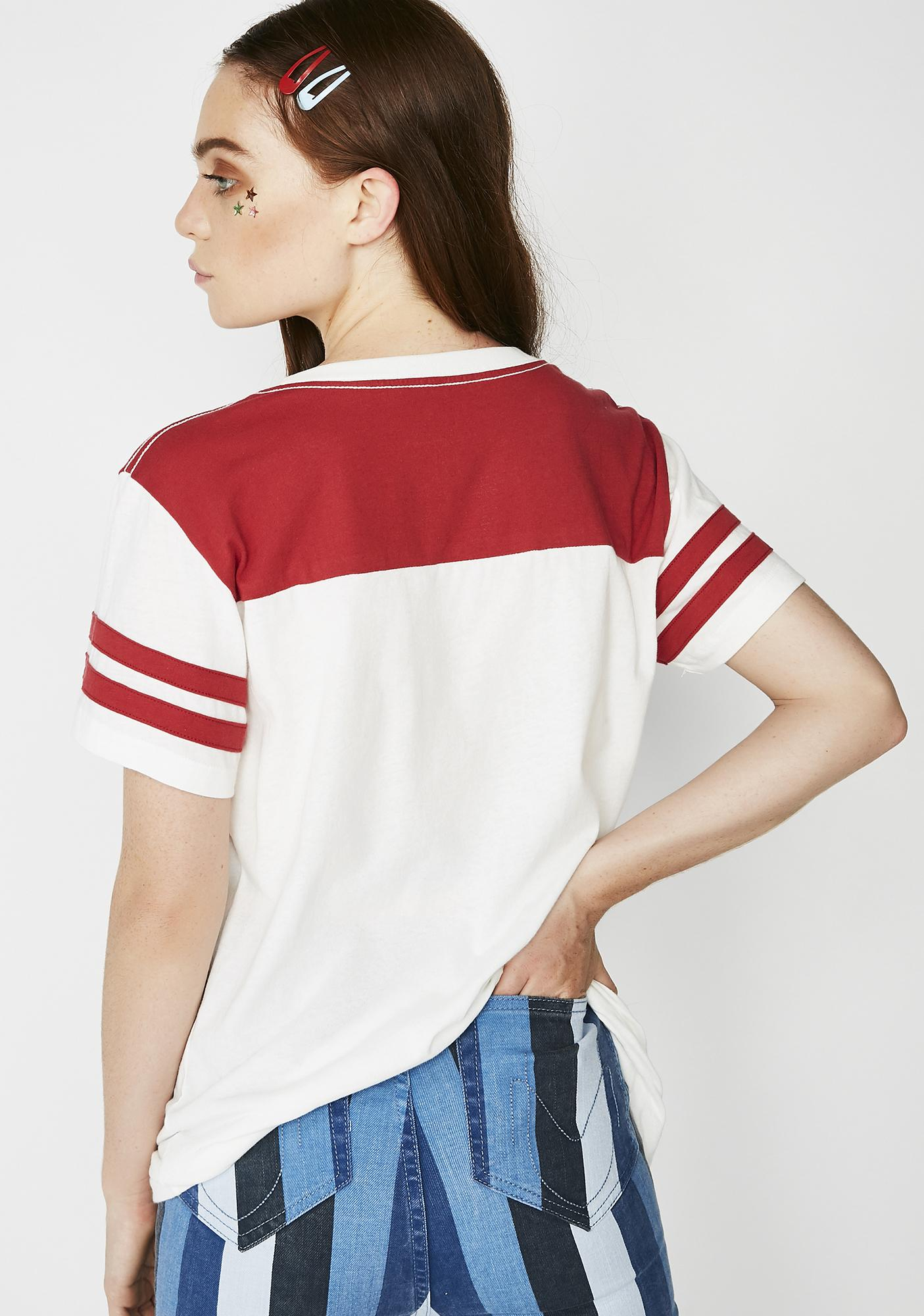 Desert Dreamer Thank You Color Block Jersey Tee