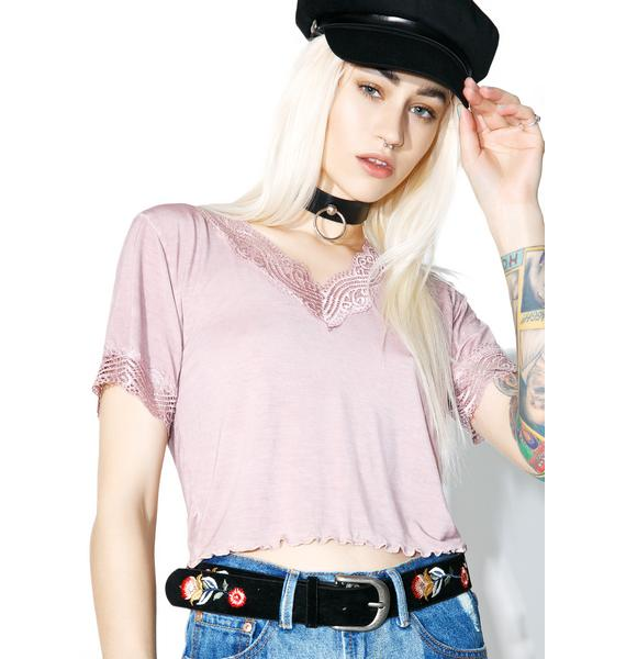 Goin' Crazy Crop Top