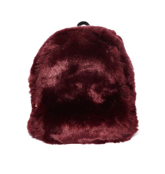 So Over It Fluffy Backpack