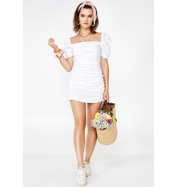Glamorous Flirt Alert Mini Dress