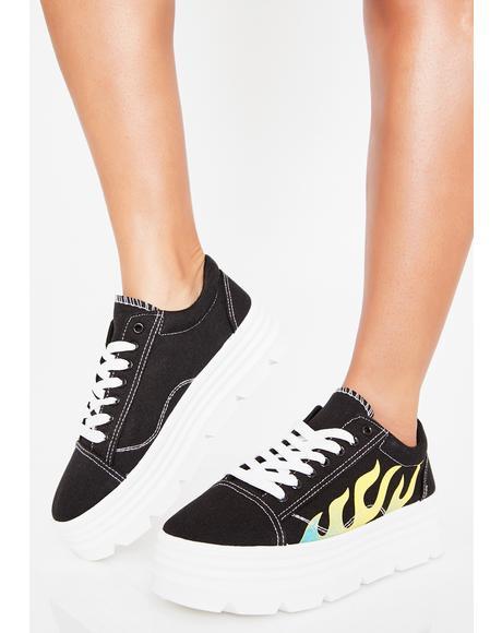 Slime The Furies Platform Sneakers