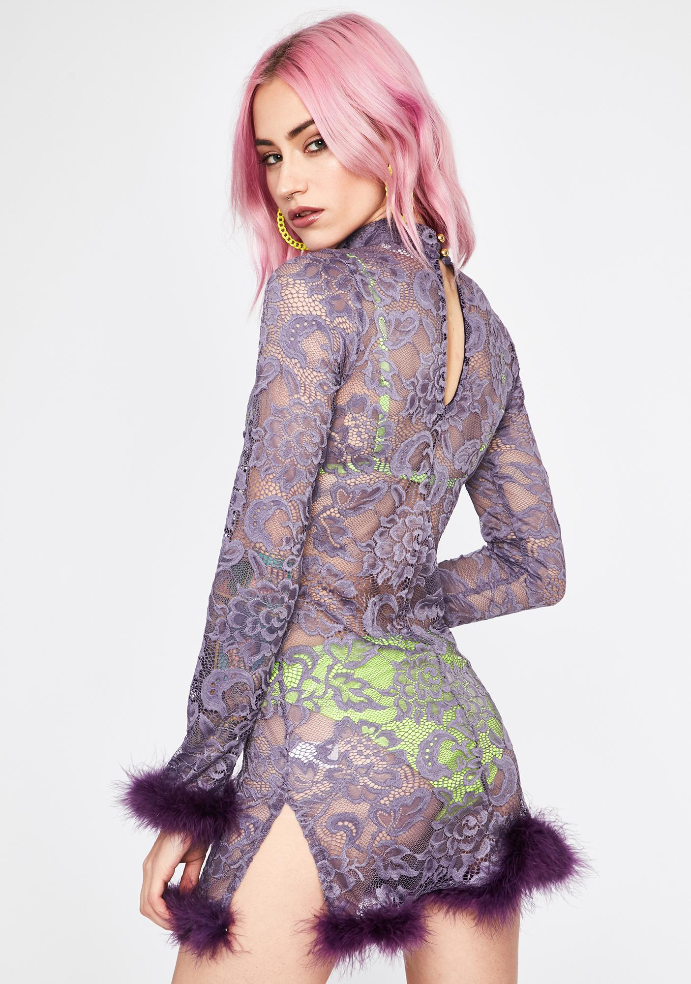 Purp Haute Hussy Mini Dress