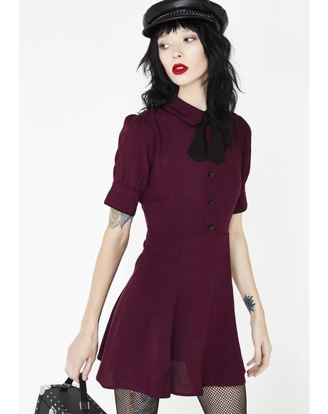 Plum Cosette Dress