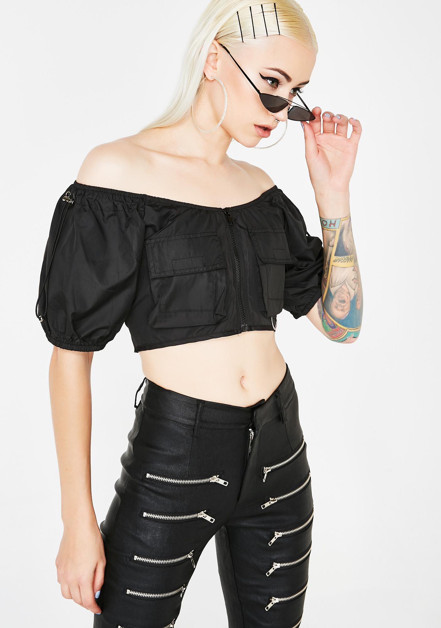 Dead Souls Crop Top