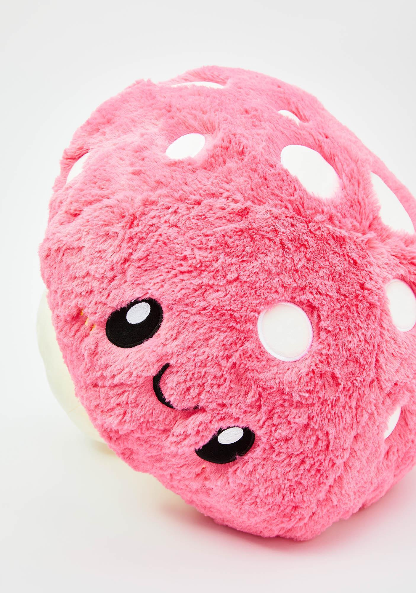 Squishable Pink Mushroom 15 Inch Plushie