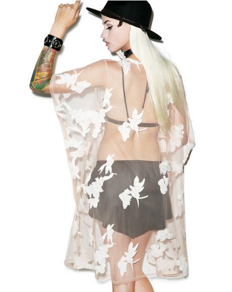Orchid Kimono