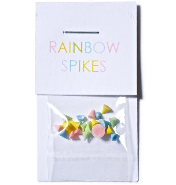 Nail Pop Rainbow Nail Spikes