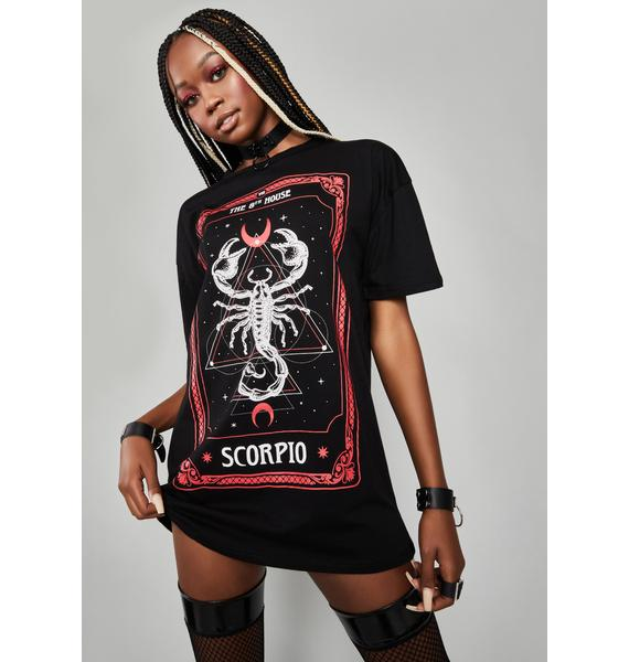 HOROSCOPEZ House Of Scorpio Graphic Tee