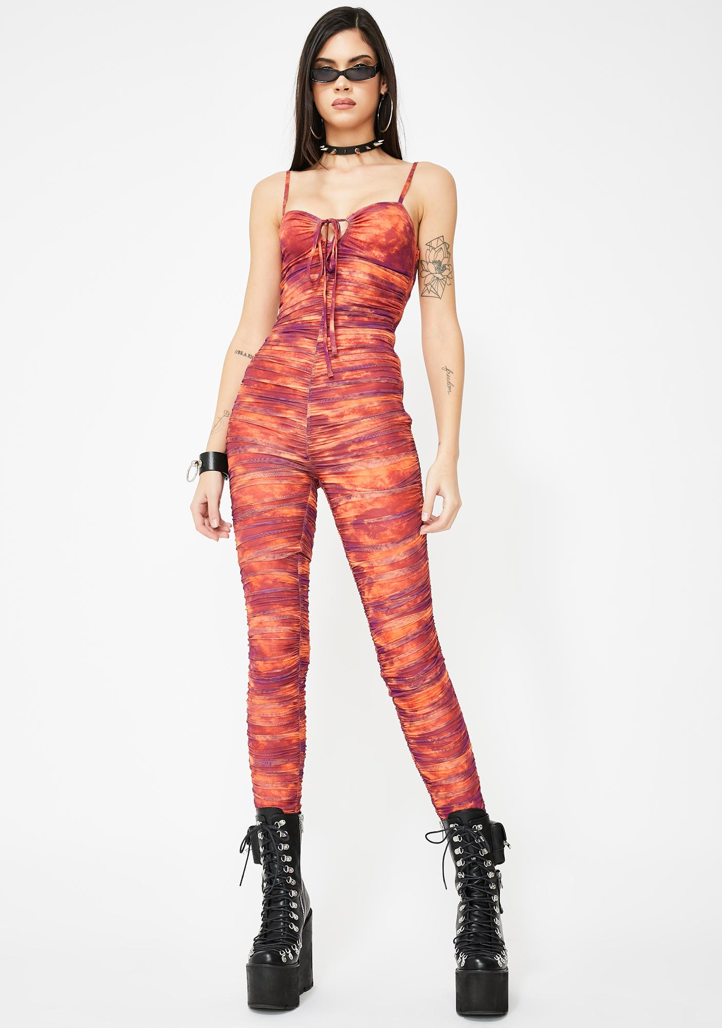 I AM GIA Colette Tie Dye Jumpsuit