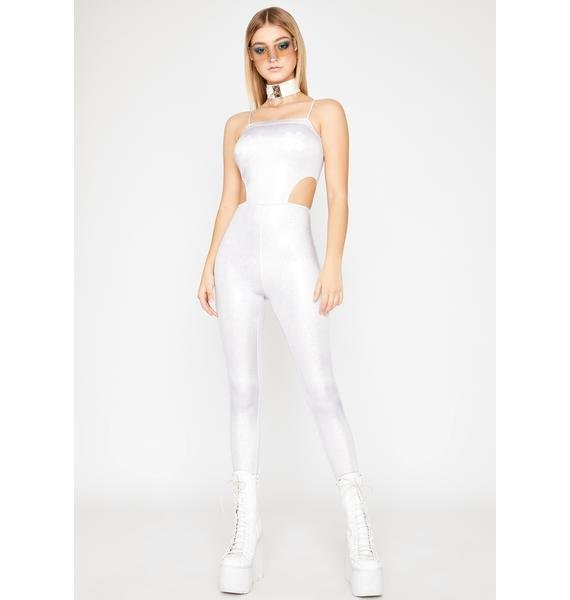 Blinding Astro Flash Cutout Catsuit