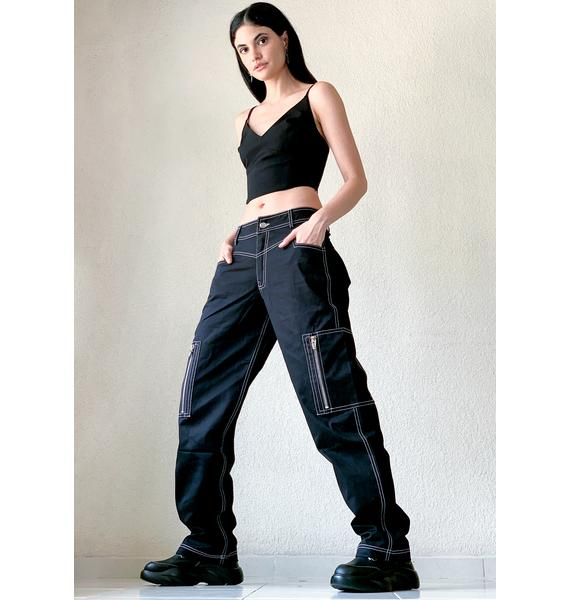 Poster Grl Work The System Cargo Pants